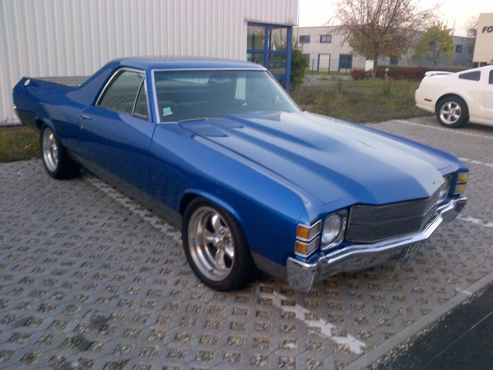 A VENDRE: Chevrolet El Camino 1971 / VENDU dans Voitures a vendre el-camino